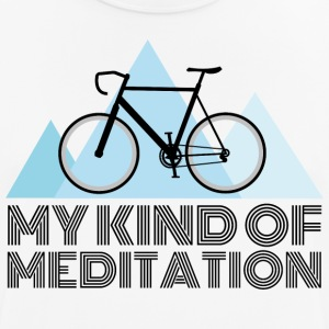 Road bike meditation - Men's Breathable T-Shirt