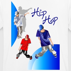 hiphop design - Herre T-shirt svedtransporterende
