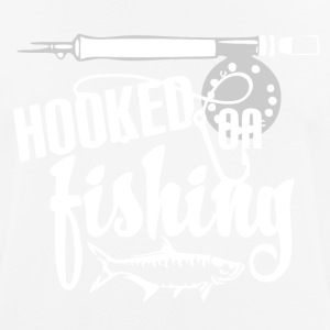 Hooked on Fishing - Fishing - Men's Breathable T-Shirt