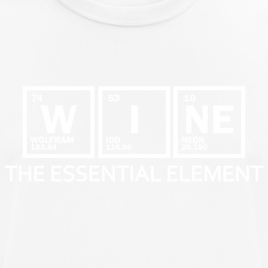 wine - element - Männer T-Shirt atmungsaktiv