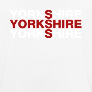 Yorkshire United Kingdom Flag Shirt - Yorkshire T- - Andningsaktiv T-shirt herr