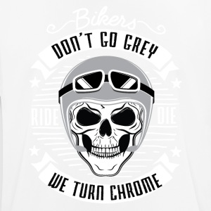 Bikers don't go grey - Men's Breathable T-Shirt