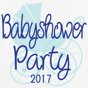Baby Shower Party 2017 - Camiseta hombre transpirable