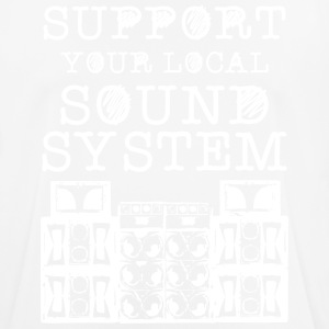 support you local soundsystem - Männer T-Shirt atmungsaktiv