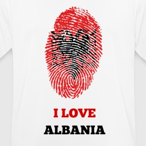 ALBANIA FINGERPRINT T-SHIRT - Men's Breathable T-Shirt