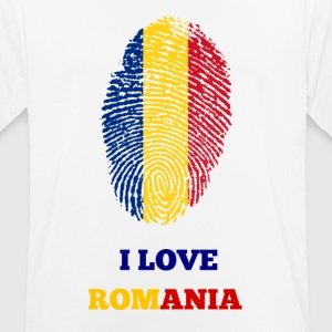 I Love Romania - Men's Breathable T-Shirt