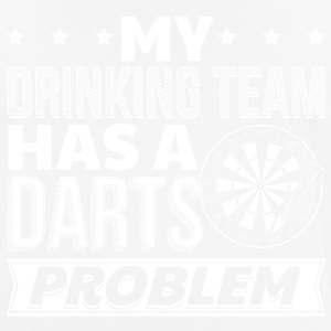 DART MY DRINKING HAS A DARTS PROBLEM - Männer T-Shirt atmungsaktiv