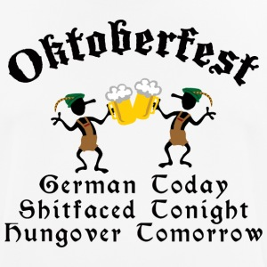 Funny Oktoberfest Drinking Beer Drunk Hungover - Men's Breathable T-Shirt