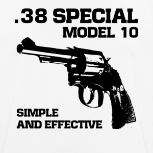 38 Special model 10 revolver fan t-shirt - Men's Breathable T-Shirt
