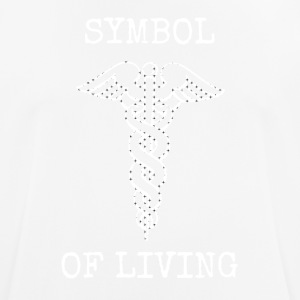 Symbol of life medical object - Men's Breathable T-Shirt