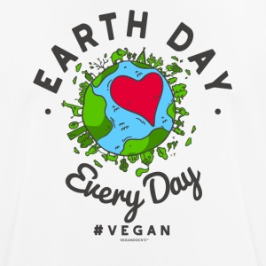 Jordens Dag Every Day t-shirt #vegan - Herre T-shirt svedtransporterende