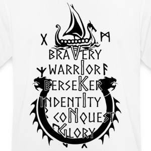Viking - Bravery, Warrior, Berserker, Identity, ... - Men's Breathable T-Shirt