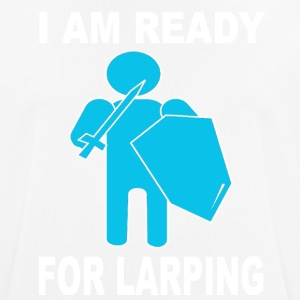 ready for larping - Camiseta hombre transpirable