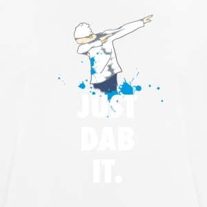 Dab just dabbing touchdown fun humor panda crass - Men's Breathable T-Shirt