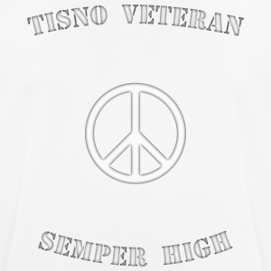 Tisno Veteran Sempre High blanco - Camiseta hombre transpirable