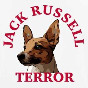 Jack Russell terror4 - Men's Breathable T-Shirt