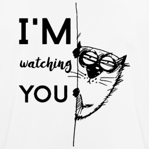 watching you - mannen T-shirt ademend