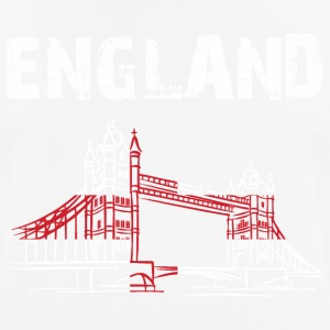 Nation-Design England Tower Bridge - Männer T-Shirt atmungsaktiv
