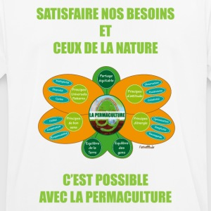 Ethics and Principles of Permaculture - Men's Breathable T-Shirt