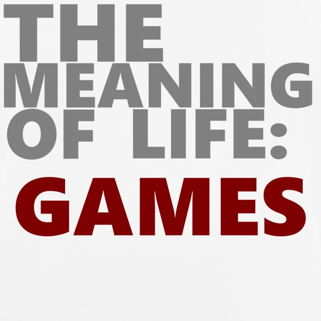 """T-Shirt """"The Meaning of Life"""""""