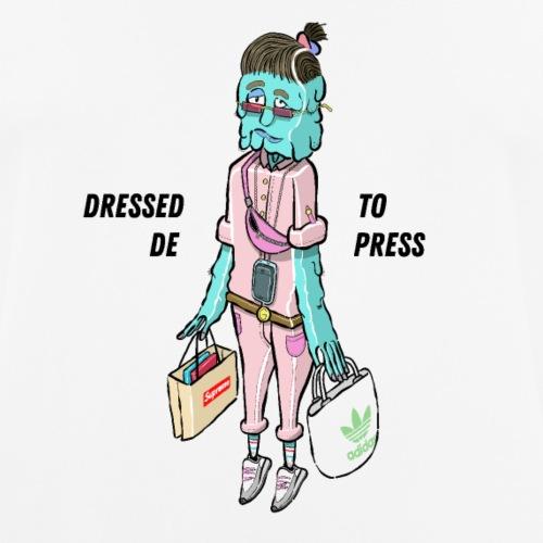 D E ( P ) R E S S E D - Männer T-Shirt atmungsaktiv