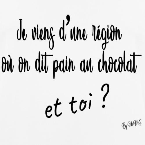 Team Pain au chocolat - T-shirt respirant Homme