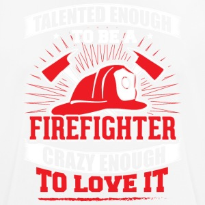 TALENTED firefighter - Men's Breathable T-Shirt