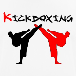 Kickboxer Fight MMA skygge Muy Thai - Pustende T-skjorte for menn