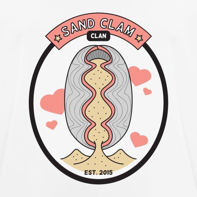 Sand Clam Clan -logokassi