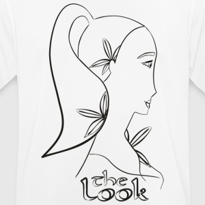 Face 6A (serie The Look) - Andningsaktiv T-shirt herr