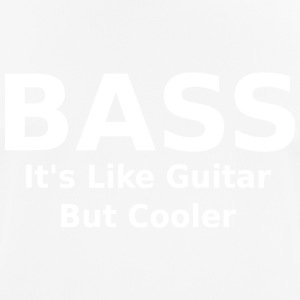 Bass it's like guitar but cooler - Men's Breathable T-Shirt