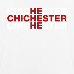 Chichester United Kingdom Flag Shirt - Chichester - Andningsaktiv T-shirt herr