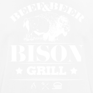 Grill · Barbecue · Bison - Men's Breathable T-Shirt