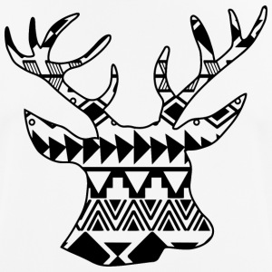 Native Deer svart - Andningsaktiv T-shirt herr