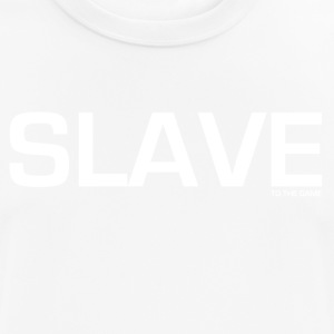 Slave to the GAME - mannen T-shirt ademend