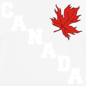 Canada Maple Leaf - mannen T-shirt ademend