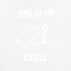 King of my Castle tent camping - Men's Breathable T-Shirt