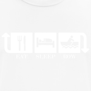 Eat Sleep Row Repeat - Andningsaktiv T-shirt herr