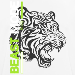 Beast Mode Tiger - Pustende T-skjorte for menn