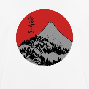 Red Dawn Fuji - Männer T-Shirt atmungsaktiv
