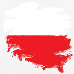 Polish Flag - Pustende T-skjorte for menn