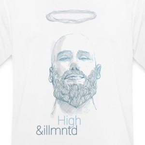 "Herbalist - ""High & Illuminated"" - mannen T-shirt ademend"
