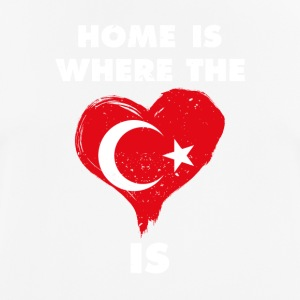 Home is where your heart is Turkey - Men's Breathable T-Shirt