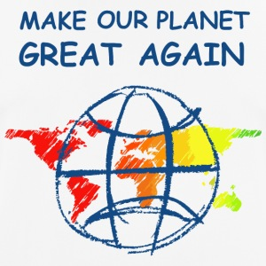 Make Our Planet Great Again - T-Shirt - Männer T-Shirt atmungsaktiv