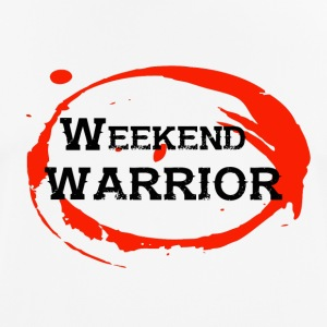 Shirt Weekend Warrior Weekend Party - mannen T-shirt ademend