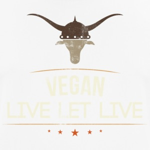 Vegan Live Let Live - Men's Breathable T-Shirt