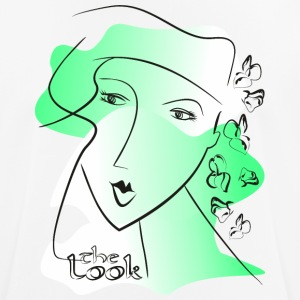 Face 8 green (The Look series) - Men's Breathable T-Shirt