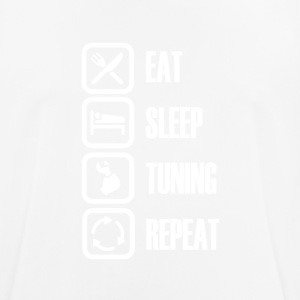 For real tuners! Eat Sleep Tuning - Men's Breathable T-Shirt