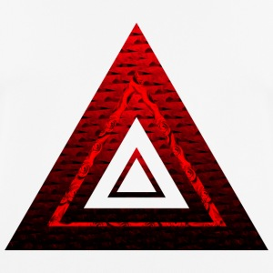 Red Ruby Rose Pyramid - Men's Breathable T-Shirt
