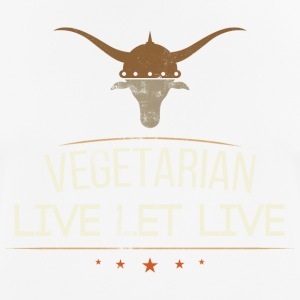 Vegan Live Let Live - Camiseta hombre transpirable